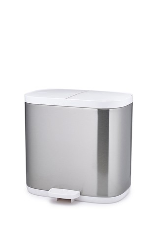 Joseph® Joseph Split Steel Recycle Waste Bin