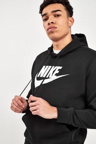 Nike Club Logo Pullover Hoodie