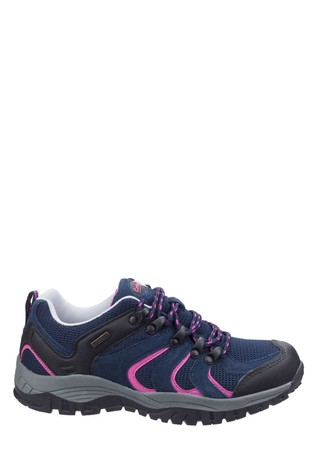 Cotswold Blue Stowell Low Hiking Trainers