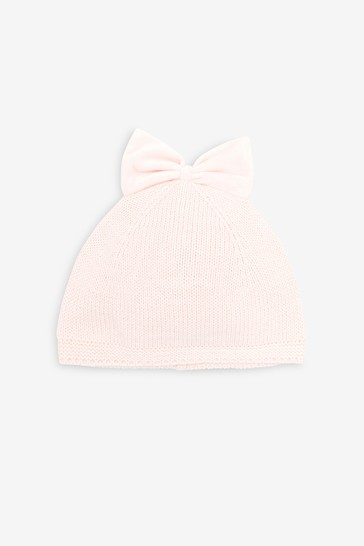 Pink Bow Hat (Younger)