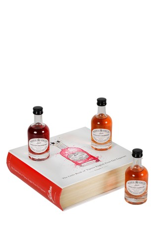 Set of 3 Fruit Gin Liqueurs Book by Tiptree