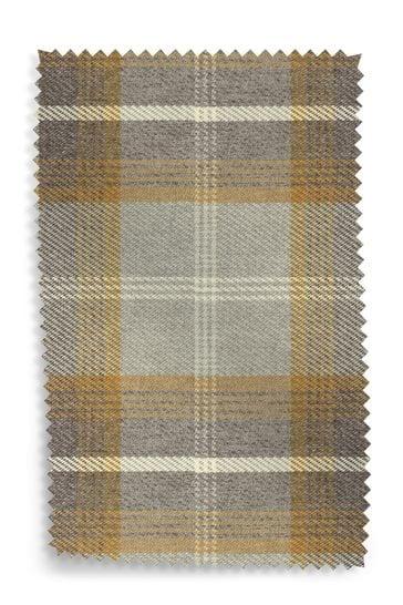 Tweedy Check Upholstery Fabric Sample