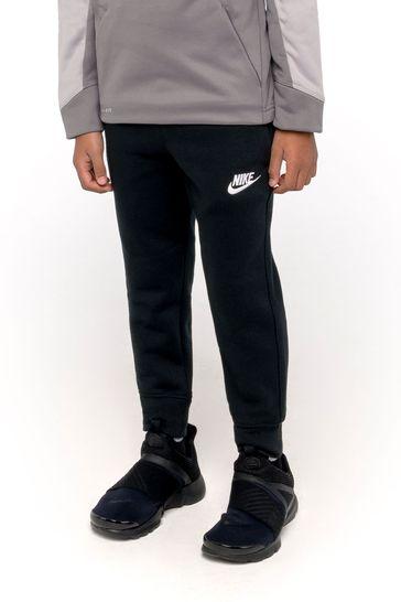 Nike Little Kids Black Fleece Joggers