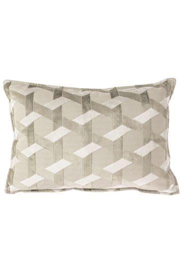 Delano Geo Velvet Cushion by Riva Home