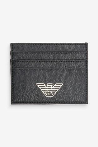 Emporio Armani Black Wallet Gift Box