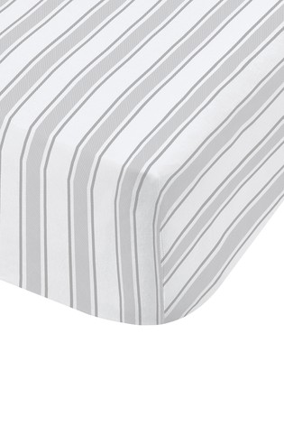 Check/Stripe Fitted Sheet by Bianca