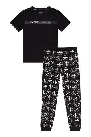Calvin Klein CK One Knit PJ Pant Set