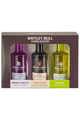 Set of 3 Tasting Gin Gift Set by Whitley Neill
