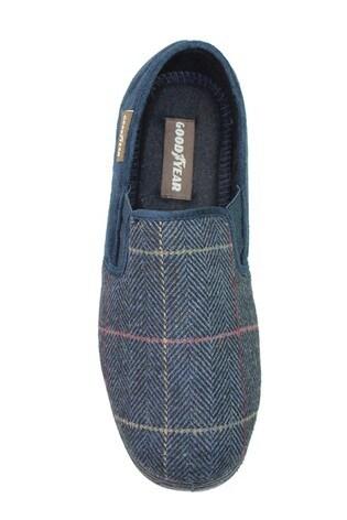 Goodyear Harrison Navy Mens Slippers