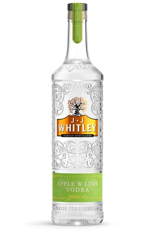 JJ Whitley Apple & Lime Vodka 70cl by Windsor Brewery