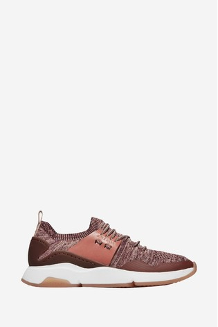 Cole Haan Red Zerogrand All Day Stitchlite Slip-On Trainers