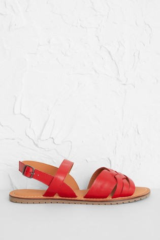 Seasalt Red Chapel Down Sandals