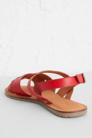 Seasalt Red Chapel Down Sandals