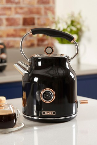 Tower Black Dome Kettle
