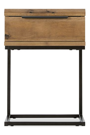Bronx Slim 1 Drawer Bedside Table