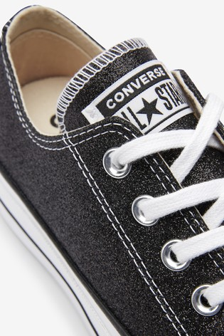Converse Platform Lift Chuck Taylor All Star Lift Glitter Trainers