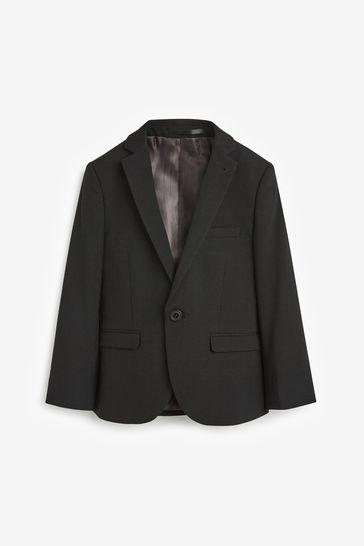 Black Skinny Fit Suit Jacket (12mths-16yrs)