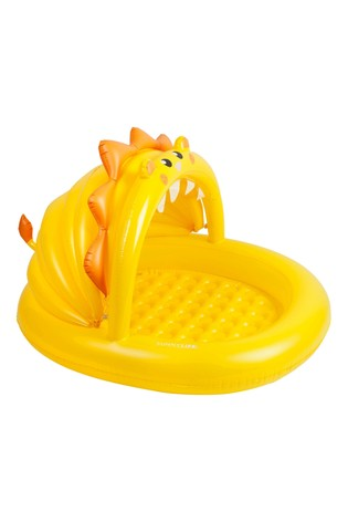 Sunnylife Yellow Lion Toddler Paddling Pool 12 Months+ 115cm x 100cm