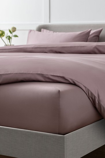 Fig Collection Luxe 400 Thread Count Deep Fitted 100% Egyptian Cotton Sateen Deep Fitted Sheet