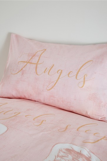 Angel Duvet Cover and Pillowcase Set by Catherine Lansfield