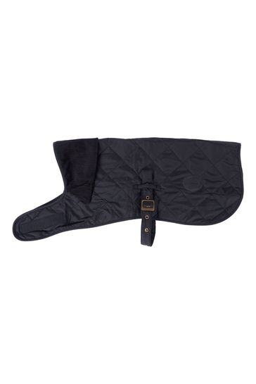 Barbour® Black Quilted Dog Coat
