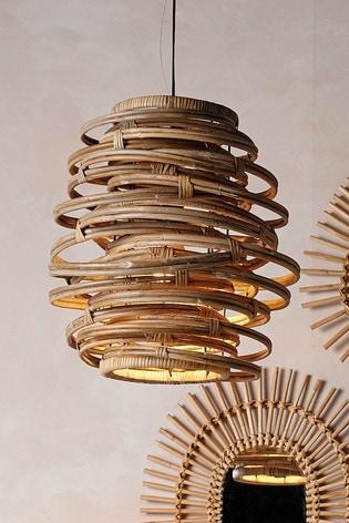 Parlane Large Pendant Twirl Lamp