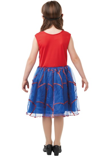 Rubies Spider-Girl Dress Fancy Dress Costume