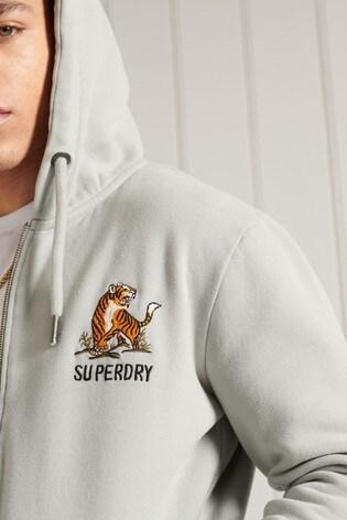 Superdry Military Non Branded Zip Hoodie