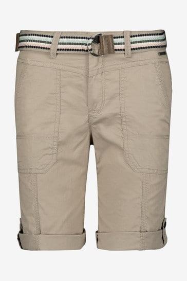 Esprit Cream Woven Shorts