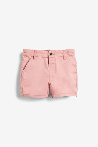Pink Chino Shorts (3mths-7yrs)