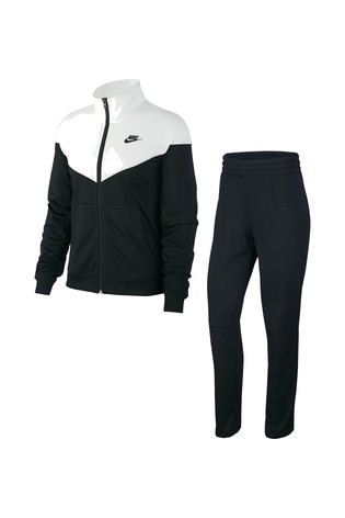 Buy Nike Black/White Tracksuit from