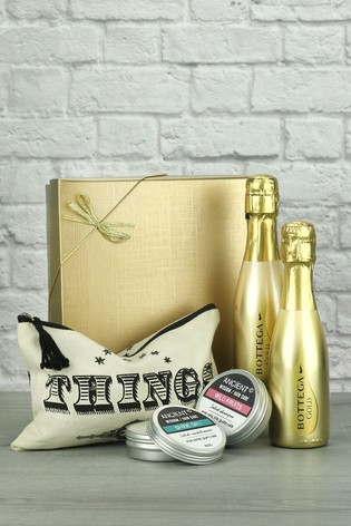 Prosecco & Travel Essentials Gift Set by Le Bon Vin
