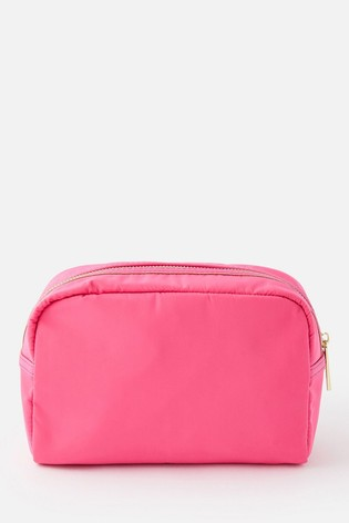 Accessorize Pink Zip Make Up Bag