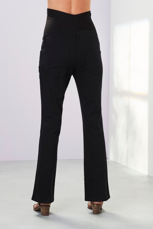 Black Maternity Boot Cut Jeans