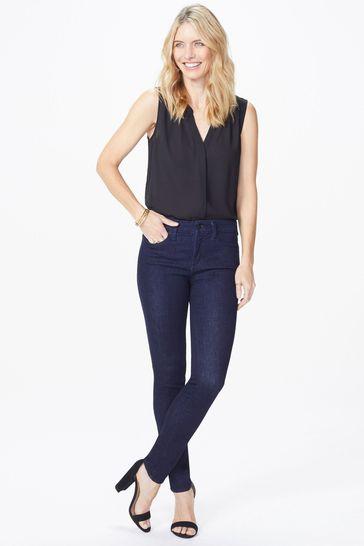 NYDJ Dark Blue Denim Ami Rinse Skinny Jean