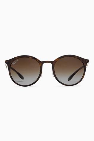 Ray-Ban® Polarised Round Sunglasses