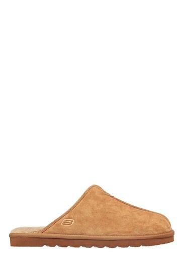 Skechers Tan Renten Palco Slippers