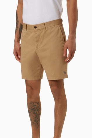 Original Penguin® Logo Shorts With Thigh Placement Pete The Penguin