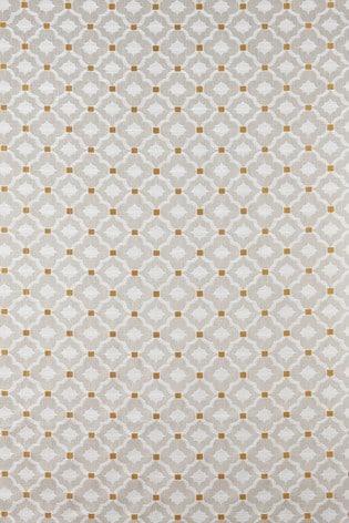 Country Geo Jacquard Curtains Fabric Sample