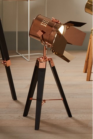 Pacific Hereford Tripod Table Lamp
