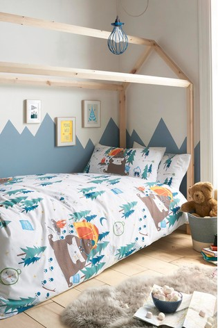 Giovanna Fletcher Exclusive to Next Are We Bear Yet Duvet Cover And Pillowcase Set