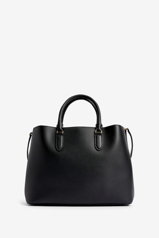 Lauren Ralph Lauren® Black Marcy Satchel Bag