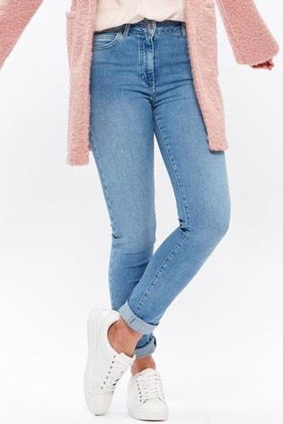 M&Co Blue Slim Leg Jeans