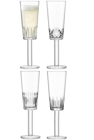 Set of 4 LSA International Tatra Flutes