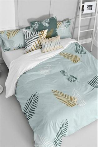 Happy Friday Foliage Duvet Cover and Pillowcase Set