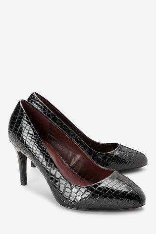 Buy Almond Toe Court Shoes from the