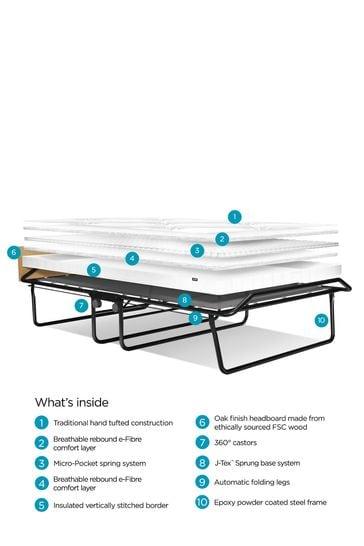 Supreme Pocket Sprung Auto Folding Bed