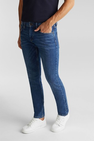 Esprit Blue Tapered Denim Pants