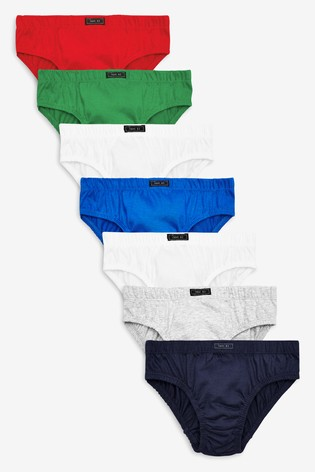Multi Briefs Seven Pack (1.5-12yrs)