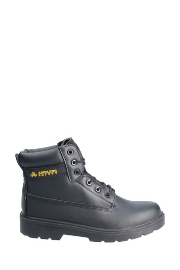 Amblers Safety Black FS12C Lace-Up Safety Boots